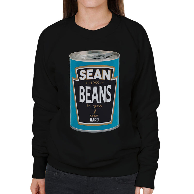 Sean Beans In Gravy 1 Variety Hard Women's Sweatshirt by Bevatron - Cloud City 7