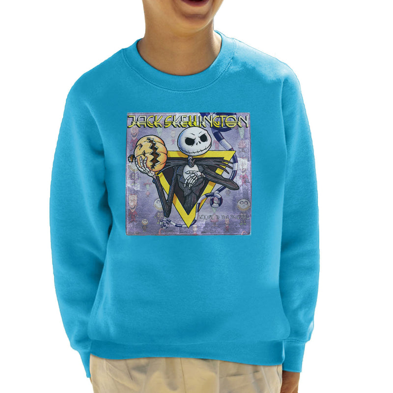 Nightmare Before Chirstmas Welcome Your Nightmare Kid's Sweatshirt by Bleee - Cloud City 7