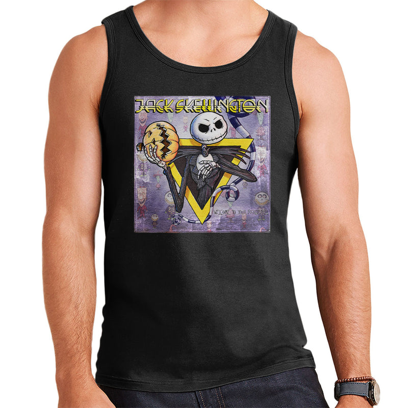 Nightmare Before Chirstmas Welcome Your Nightmare Men's Vest by Bleee - Cloud City 7