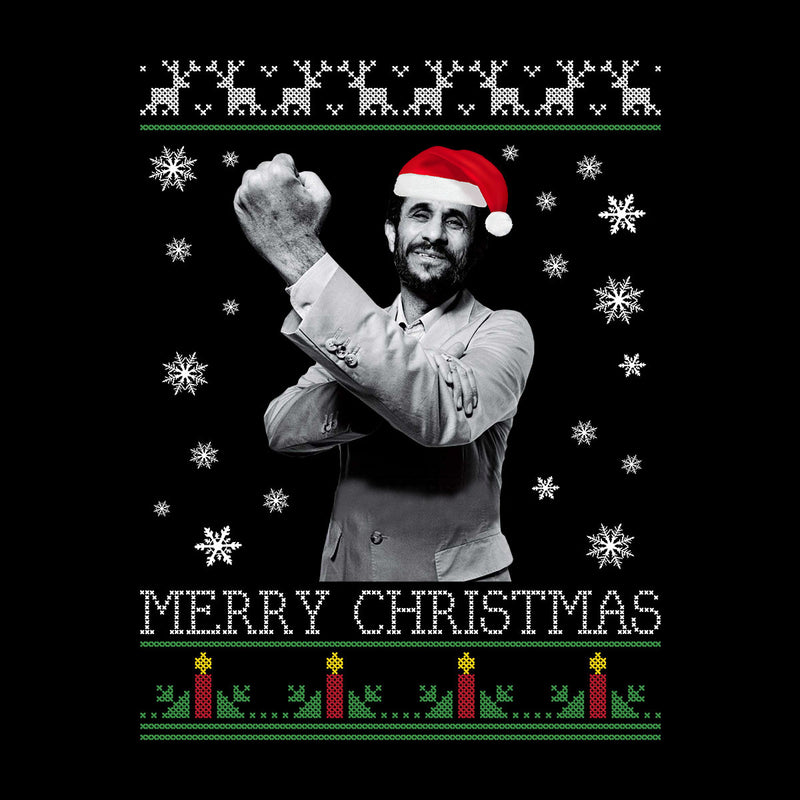 Mahmoud Ahmadinejad Merry Christmas Knit