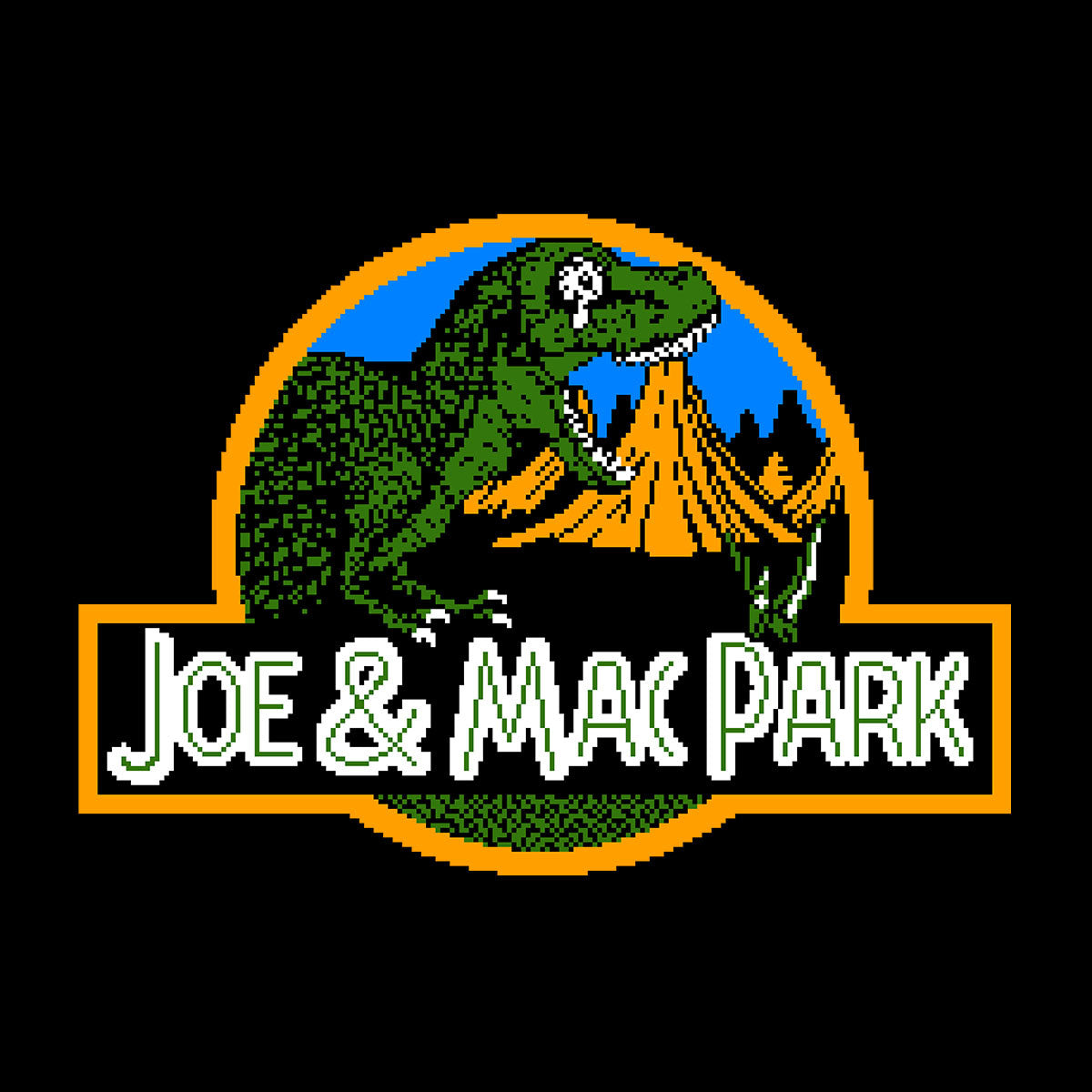 Caveman Park Joe and Mac