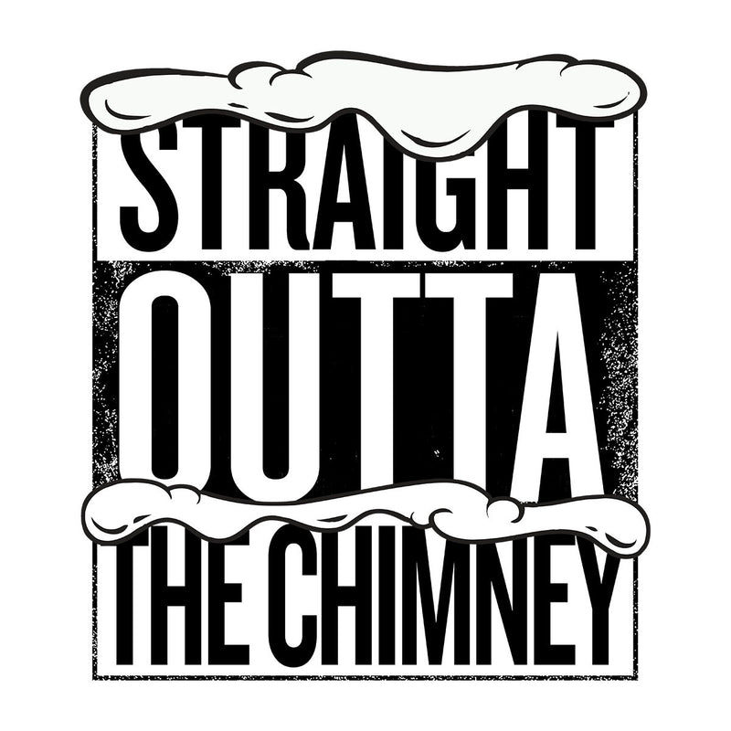 Straight Outta The Chimney Christmas