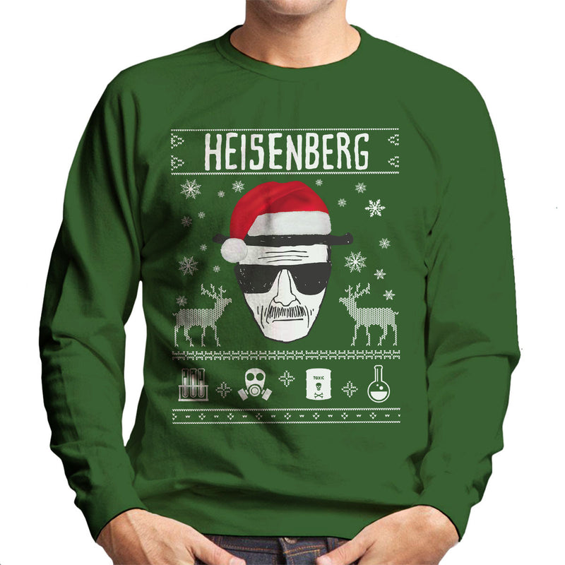 Breaking Bad Heisenberg Christmas Men's Sweatshirt