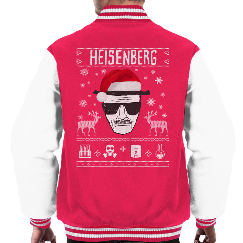 Breaking Bad Heisenberg Christmas Men's Varsity Jacket by Spudhead - Cloud City 7