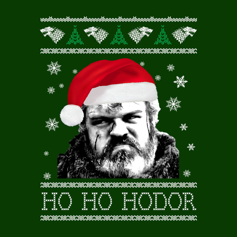 Game Of Thrones Ho Ho Hodor Christmas Knit Women's Vest by Spudhead - Cloud City 7