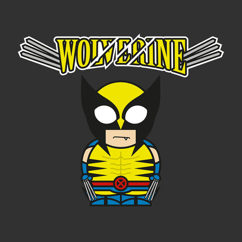 Wolverine Cartoon Figure
