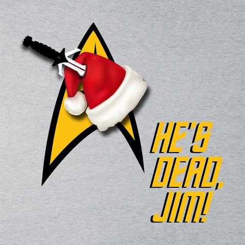 He's Dead, Jim! Star Trek Christmas Hat
