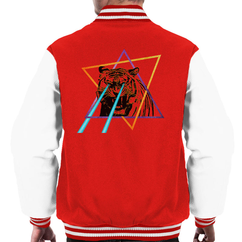 Laser Tiger Star Men's Varsity Jacket