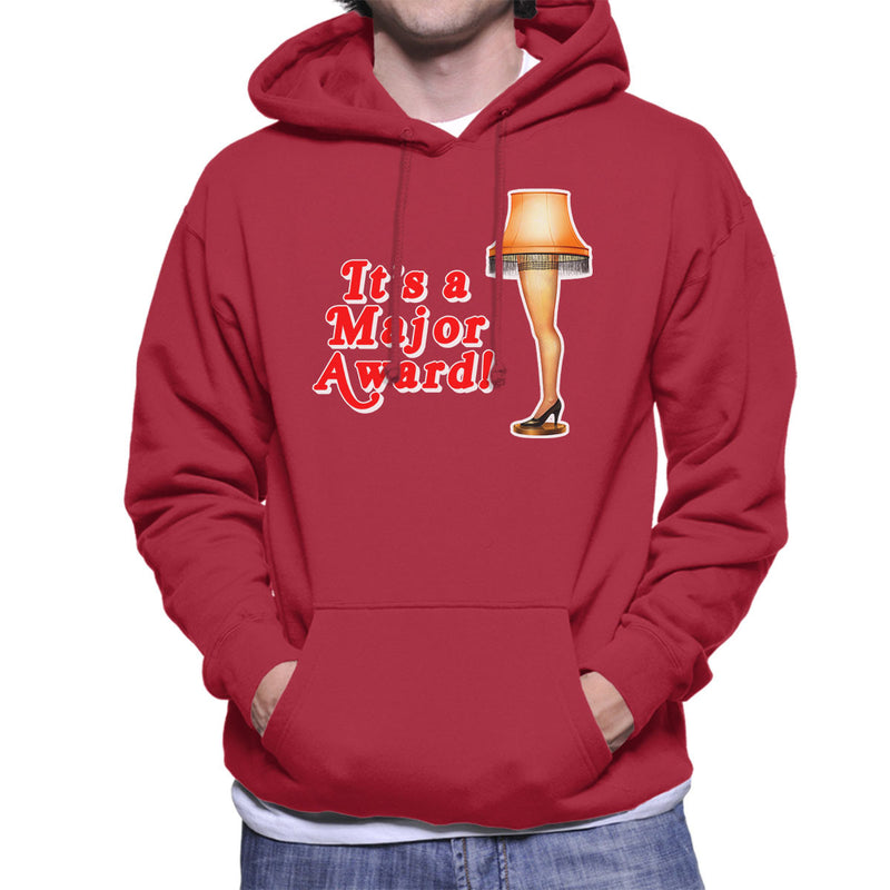 Its A Major Award Christmas Lamp Men's Hooded Sweatshirt by Hilarious Delusions - Cloud City 7