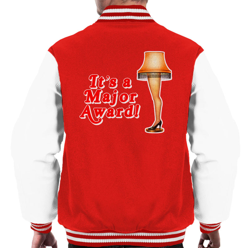 Its A Major Award Christmas Lamp Men's Varsity Jacket by Hilarious Delusions - Cloud City 7