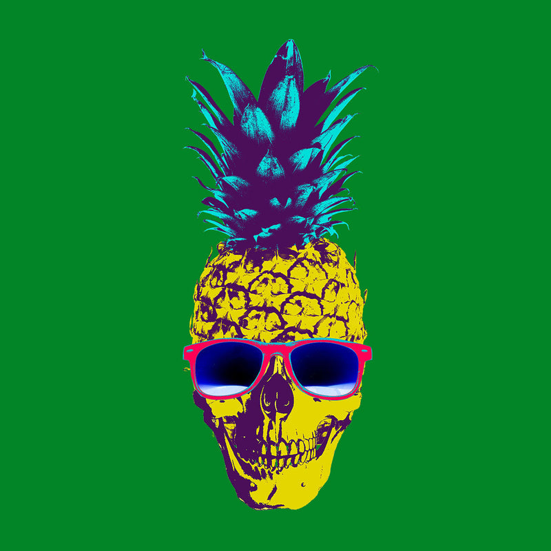 Skull Pineapple Men's Vest by Hilarious Delusions - Cloud City 7