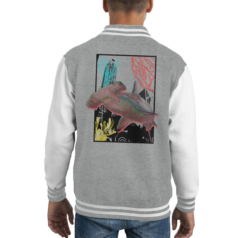 Urban Hammer Shark Kid's Varsity Jacket