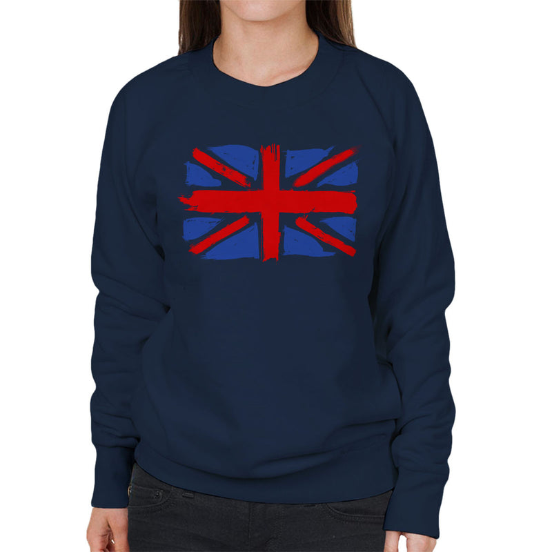 My Union Jack Women's Sweatshirt by Hilarious Delusions - Cloud City 7