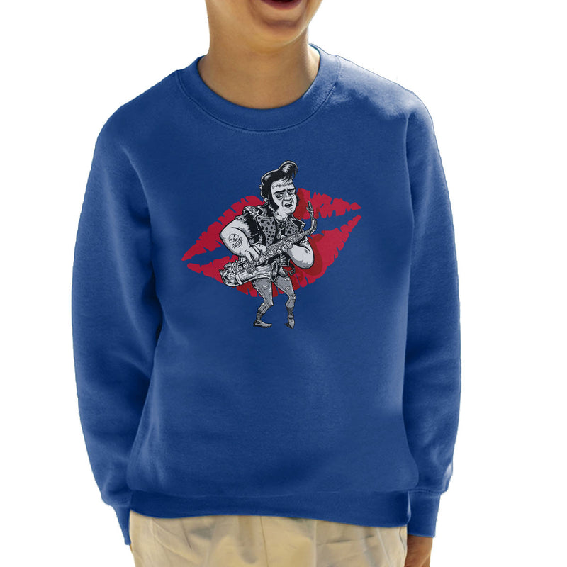 Rocky Horror Picture Show Eddie Kid's Sweatshirt