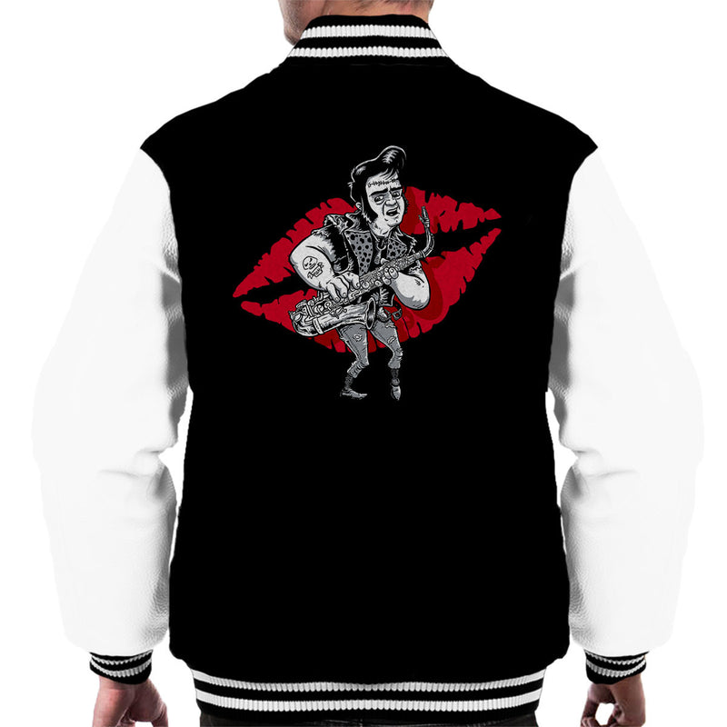 Rocky Horror Picture Show Eddie Men's Varsity Jacket by Bleee - Cloud City 7