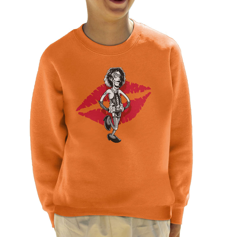 Rocky Horror Picture Show Frank Kid's Sweatshirt by Bleee - Cloud City 7
