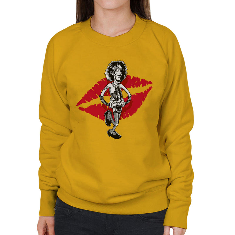 Rocky Horror Picture Show Frank Women's Sweatshirt by Bleee - Cloud City 7