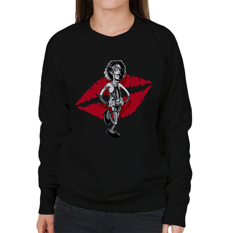 Rocky Horror Picture Show Frank Women's Sweatshirt