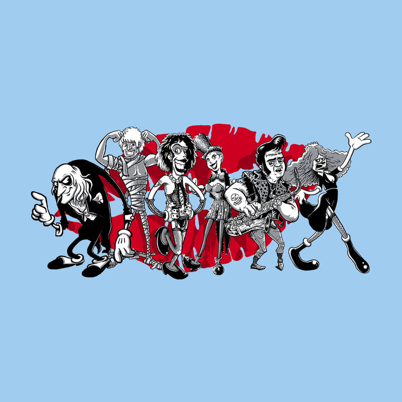 Rocky Horror Picture Show Gang Of Six Men's Vest by Bleee - Cloud City 7