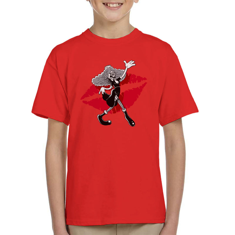 Rocky Horror Picture Show Magenta Kid's T-Shirt by Bleee - Cloud City 7