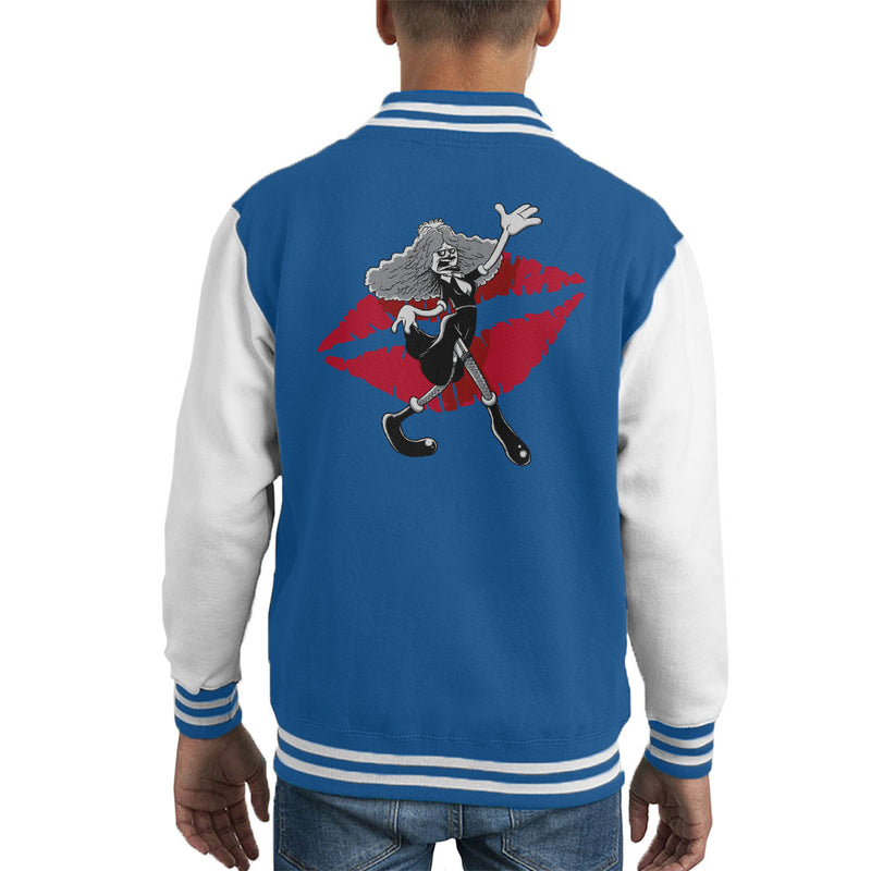 Rocky Horror Picture Show Magenta Kid's Varsity Jacket by Bleee - Cloud City 7