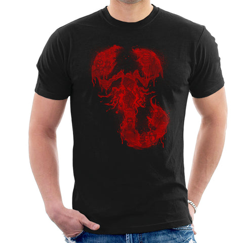 A Dreadful Symbol Halftoned Penny Dreadful Men's T-Shirt