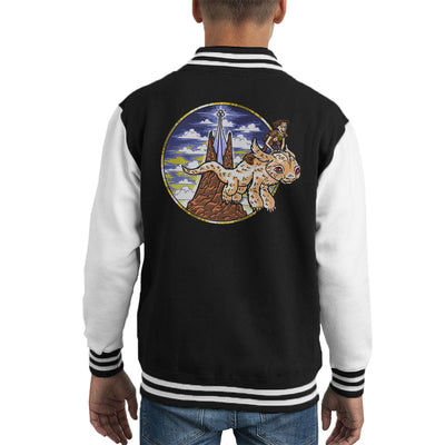 How to train your luck dragon neverending story cloud city 7 how to train your luck dragon neverending story kids varsity jacket ccuart Choice Image