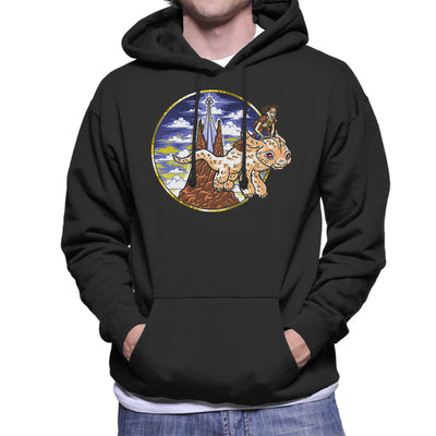 How to train your luck dragon neverending story cloud city 7 how to train your luck dragon neverending story mens hooded sweatshirt ccuart Choice Image