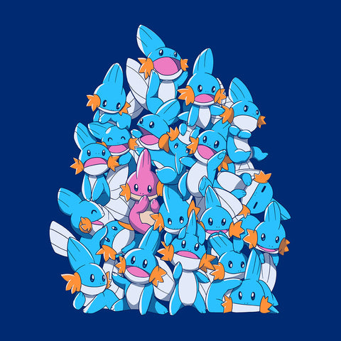 Pokemon Mudkip A Pile Of Water Starters