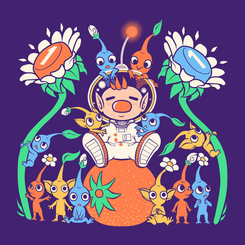Pikmin Friendly Alien Flora