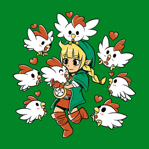 Legend Of Zelda Linkle the Cucco Queen Hyrule Warriors