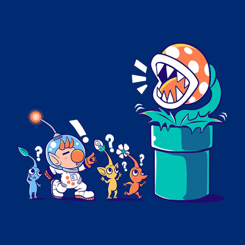 Super Mario Pikmin Wrong Planet