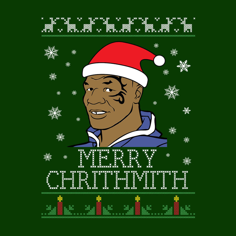 Mike Tyson Christmas Meme.Mike Tyson Merry Chrithmith Christmas Men S Varsity Jacket
