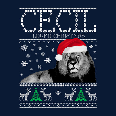 Cecil Loved Christmas Knit