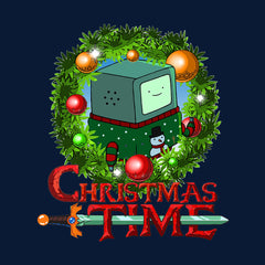 Adventure Christmas Time Wreath Beemo Cartoon Network