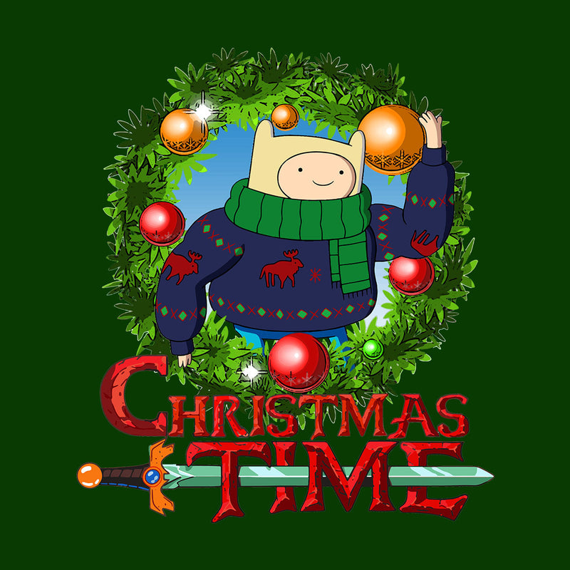 Adventure Christmas Time Wreath Finn Cartoon Network