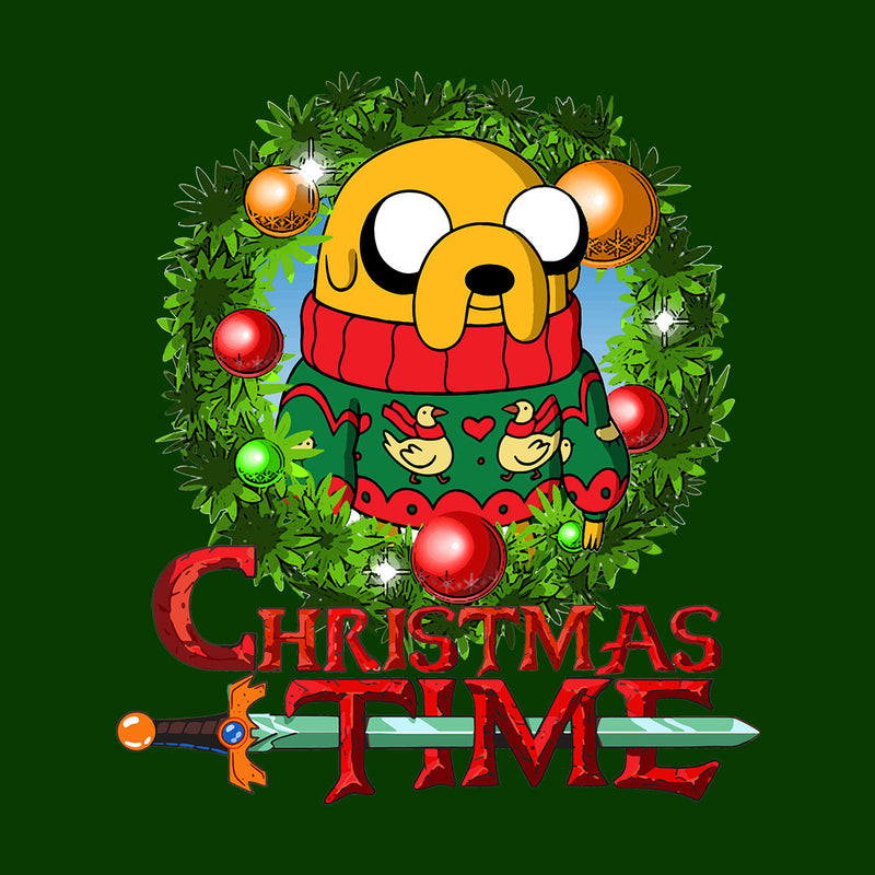 Adventure Christmas Time Wreath Jake Cartoon Network