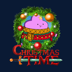 Adventure Christmas Time Wreath Lumpy Space Princess Cartoon Network