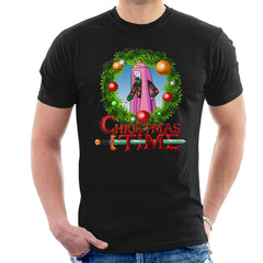 Adventure Christmas Time Wreath Princess Bubblegum Cartoon Network