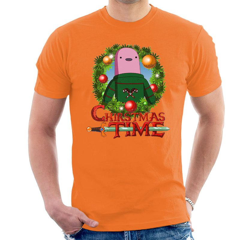 Adventure Christmas Time Wreath Shelby Cartoon Network Men's T-Shirt by MacXi - Cloud City 7