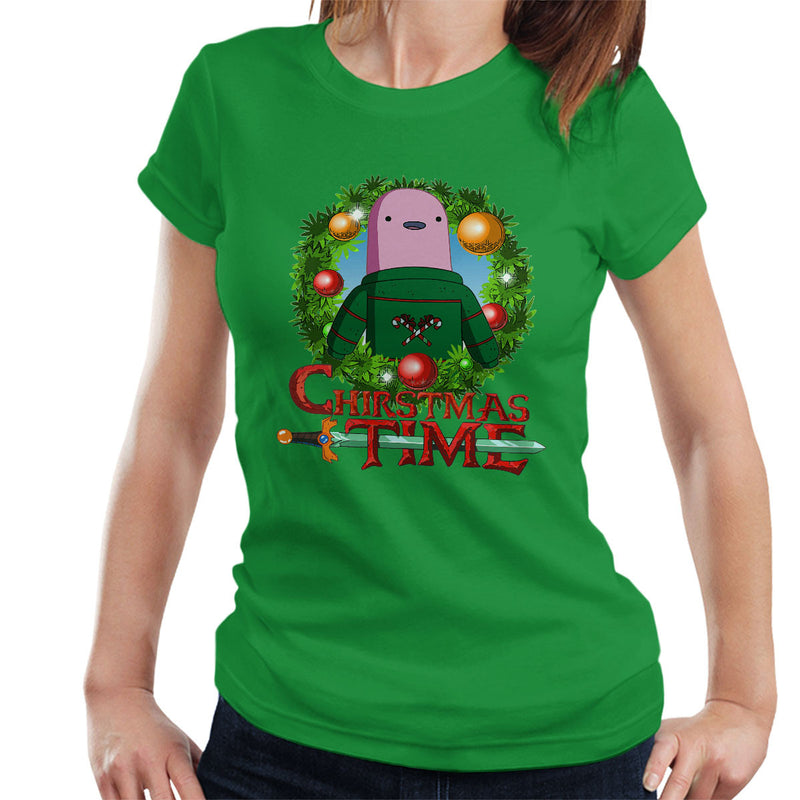 Adventure Christmas Time Wreath Shelby Cartoon Network Women's T-Shirt by MacXi - Cloud City 7