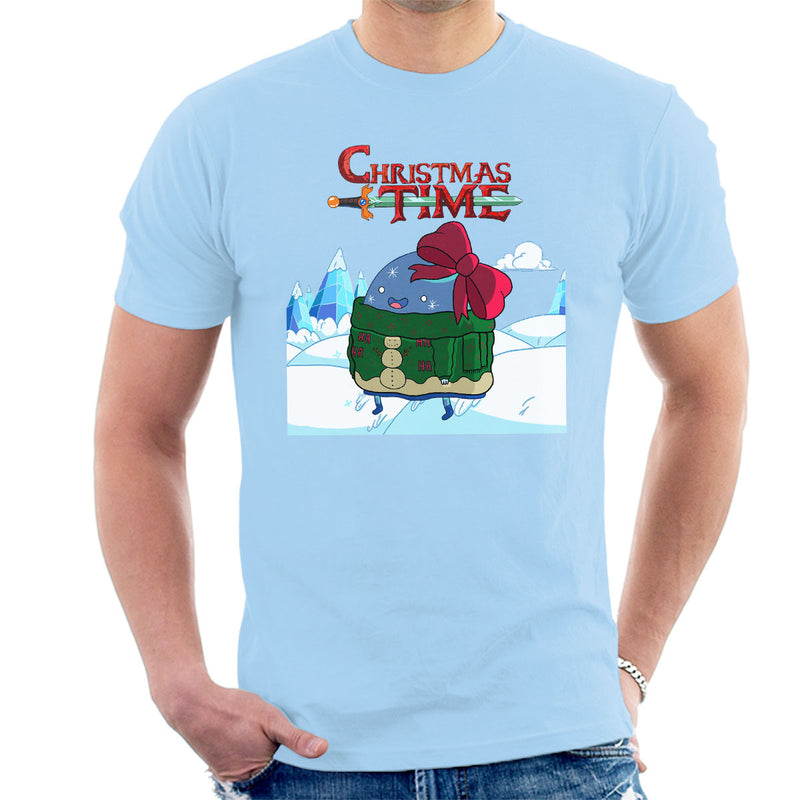 Adventure Christmas Time Bow Ice World Cartoon Network Men's T-Shirt by MacXi - Cloud City 7