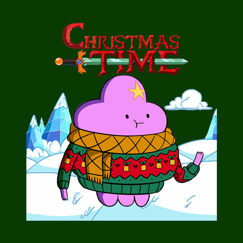 Adventure Christmas Time Lumpy Space Princess Ice World Cartoon Network