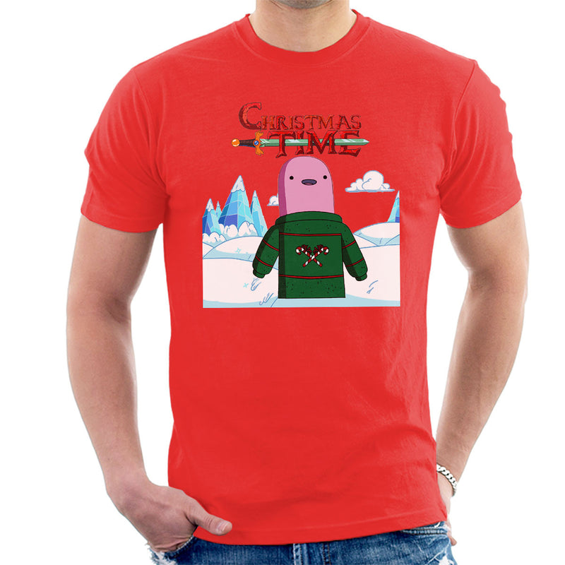 Adventure Christmas Time Shelby Ice World Cartoon Network Men's T-Shirt by MacXi - Cloud City 7