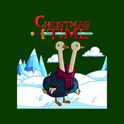 Adventure Christmas Time Two Headed Duck Ice World Cartoon Network