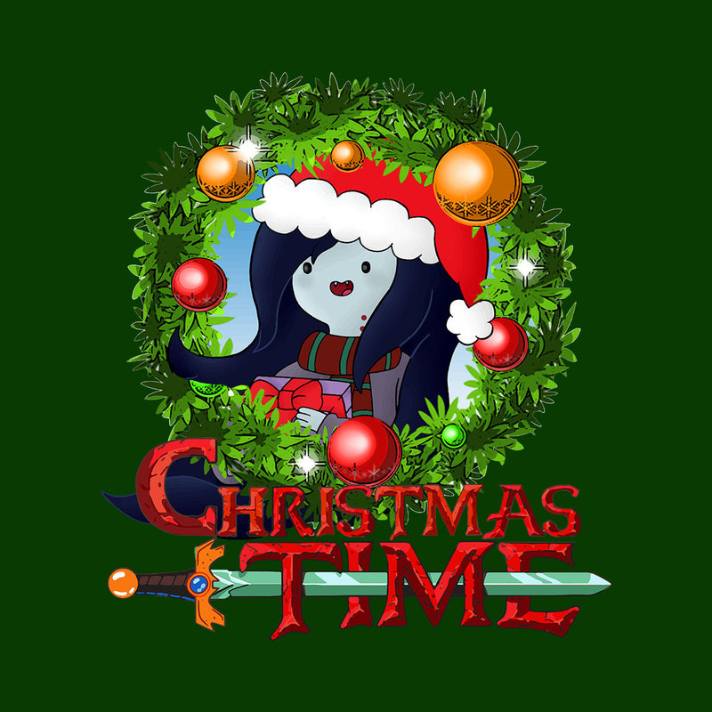 Adventure Christmas Time Wreath Marceline Cartoon Network