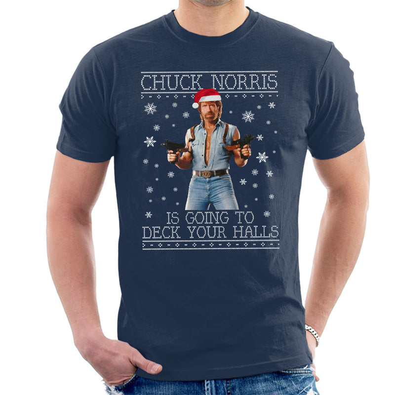 Chuck Norris Deck Your Halls Christmas Knit by Spudhead - Cloud City 7