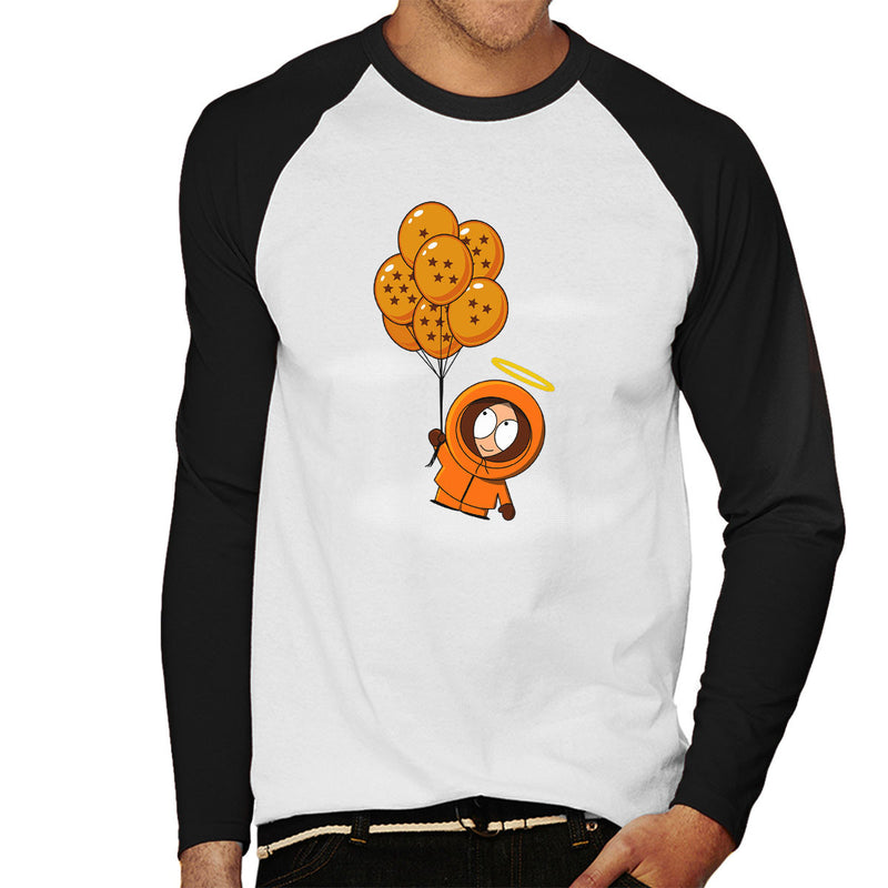 073886ae9b1e ... Imminent Resurrection Dragon Ball Z South Park Men s Baseball Long  Sleeved T-Shirt by Karlangas ...