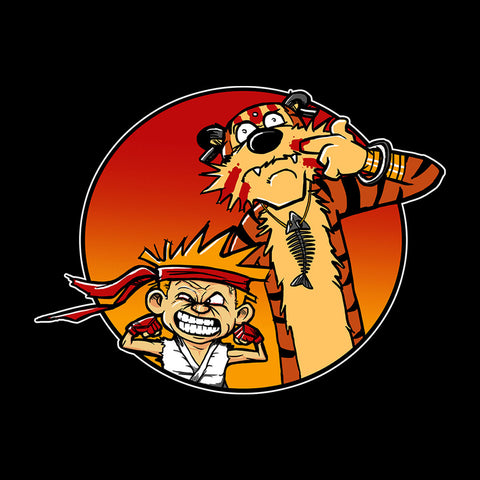 Street Pals Street Fighter Calvin And Hobbes