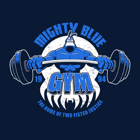 Mighty Blue Gym The Tick